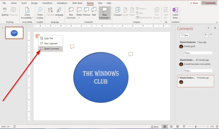 how to add comments in microsoft powerpoint slides 5 How to evaluate Comments inly Microsoft PowerPoint slides