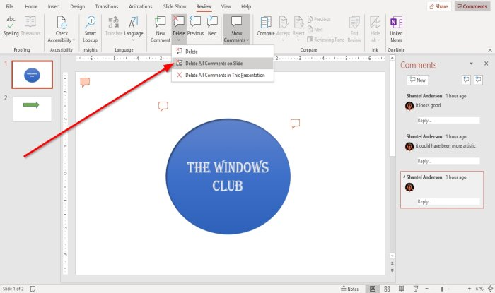 how to add comments in microsoft powerpoint slides 7 How to evaluate Comments inly Microsoft PowerPoint slides