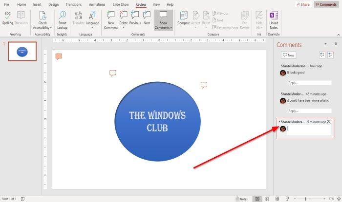 how to add comments in microsoft powerpoint slides How to evaluate Comments inly Microsoft PowerPoint slides