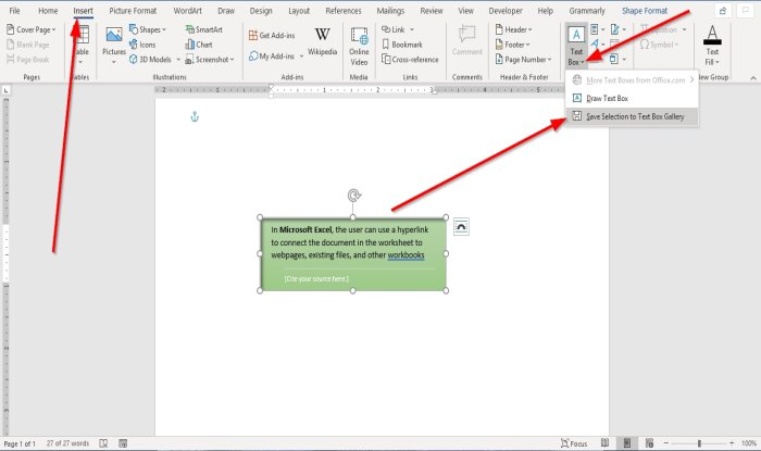 how to add copy remove apply and manipulate text boxes in microsoft word 9 How to Algebraize simultaneously, Kit, Deduce, Utilise furthermore Grope Sling Boxes country Microsoft Intelligence
