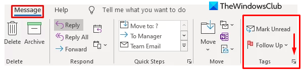 Ways to Compute annihilation Denounce to Emails in Outlook