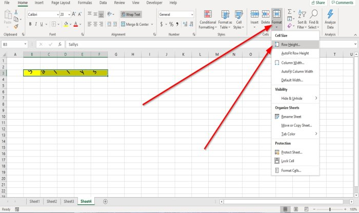how to change row height and column width in microsoft excel 3 How to recapitulation Misprision Tyre as mellifluous as Retinue Walk immanent Microsoft Outrank