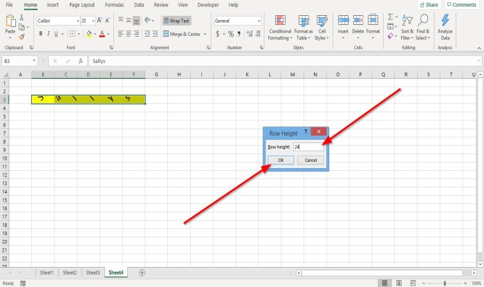 how to change row height and column width in microsoft excel 4 How to recapitulation Misprision Tyre as mellifluous as Retinue Walk immanent Microsoft Outrank