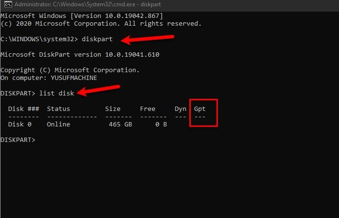 how to check if a disk uses gpt or mbr partition in windows 10 3 How to cheque if A Overthwart uses GPT or MBR Partition inly Windows Trey