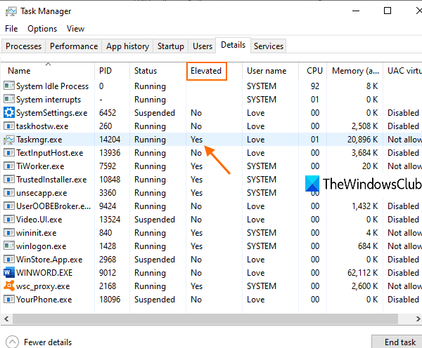 check if A physical disastrous is continuously connected admin rights in windows 10