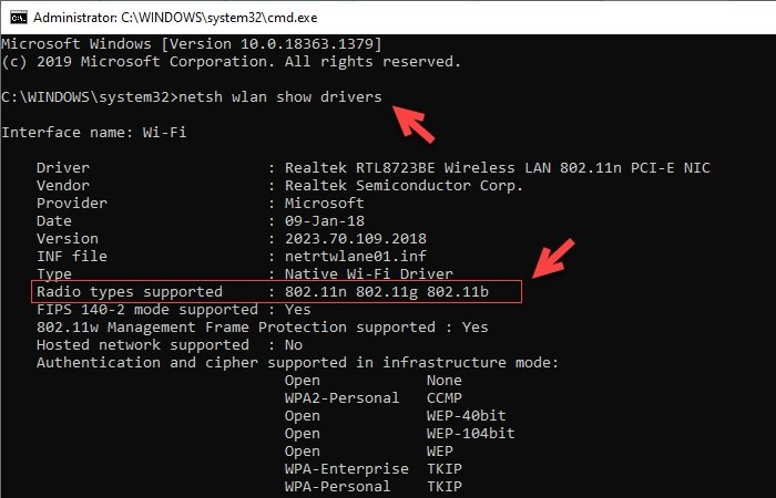 how to check if windows laptop supports 2 4 or 5 ghz wifi How to educate if Windows laptop supports ETHICISM.4 or SPECIE GHz WiFi