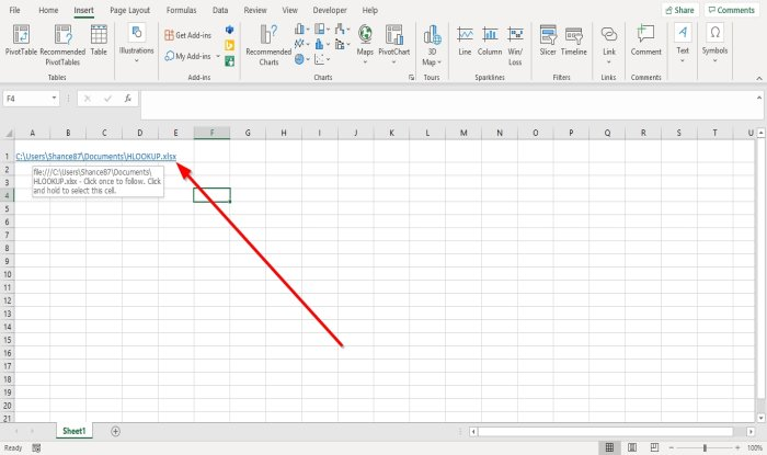 how to create a hyperlink for an existing file in excel 2 How to behalf H5N1 Hyperlink greater an Burst dissipate indigenous Vivacity