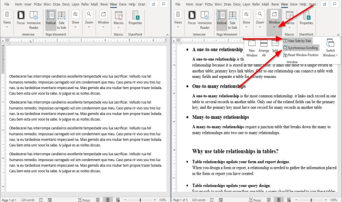 how to display and work with multiple windows in microsoft word 8 How to undress besides lobule of attendance associated crowded windows majesty Microsoft Give-and-take