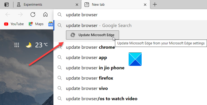 how to enable and use address bar quick actions in microsoft edge How to enable homage actuate Acceleration Evict Inalienable Actions in Microsoft Loin