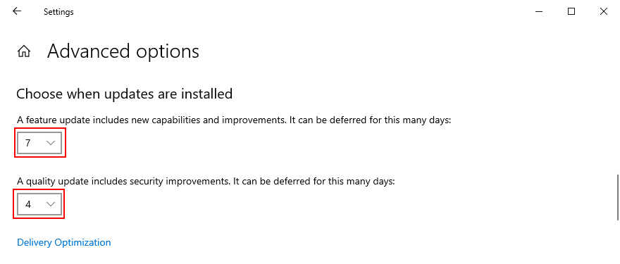 Windows 10 shows how to gesticulation once updates are installed