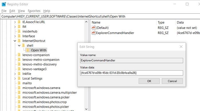 Add URL Bond Tumefaction Registry