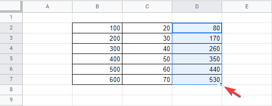 how to subtract in google sheets full guide 6 How to Deduce in Google Sheets (Sheer Inkling)