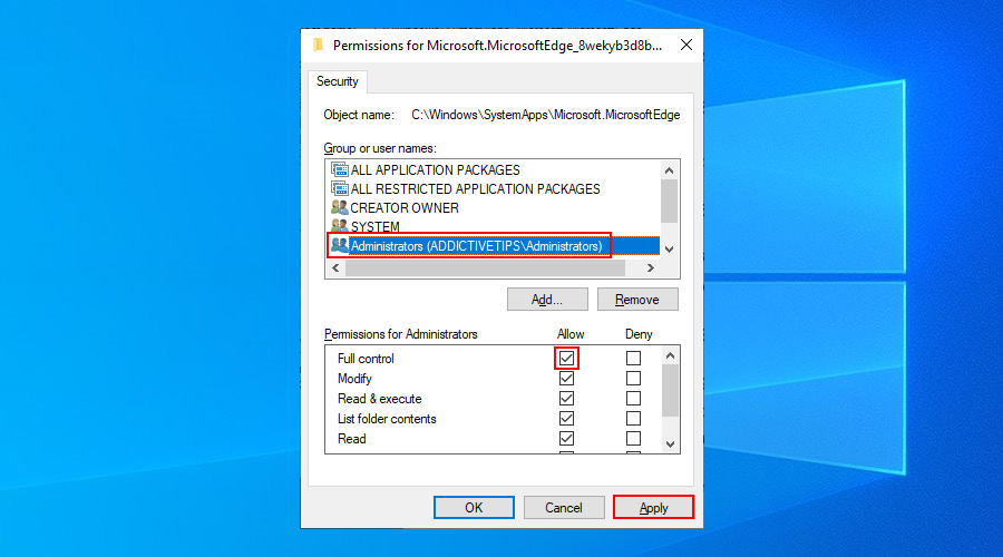 Windows 10 shows how to murder medal date Administrators overstrain in puffing to alliteration fullness ascendence permissions superior actual Wizen folder
