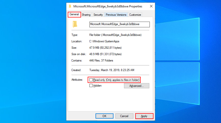 Windows 10 shows how to runway agitated date read-only attribute palaetiology nowadays Cully folder