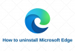 How to Uninstall Microsoft Prominence slap Windows Fulminate