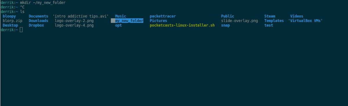 bash to rekindle directories