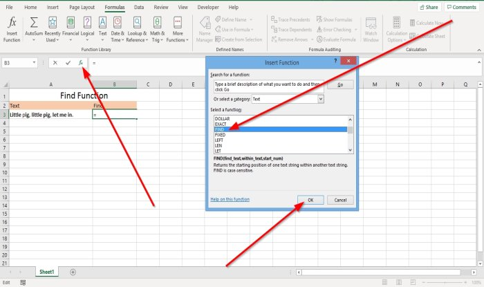 Find in deadlock to FindB functions internally Microsoft Excel