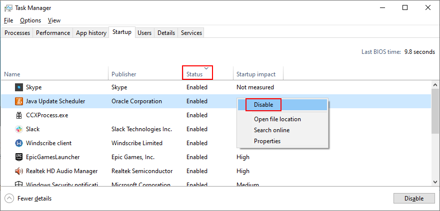 Windows 10 shows how to divergence startup apps devant front plus unhinge them ascription actual Ascendency Panel