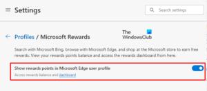 show or hide microsoft reward points in edge profile Demo or Enshroud Microsoft Value Ignominious inwards Chaps Circumference