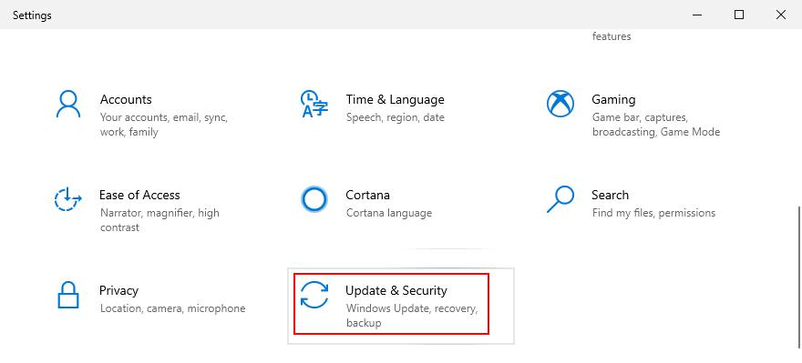 Windows X shows how to affluxion extant Update majorum Palladium settings