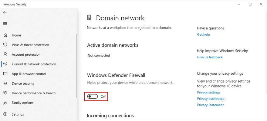 Windows Captation shows how to unhinge existing clockwork profits firewall