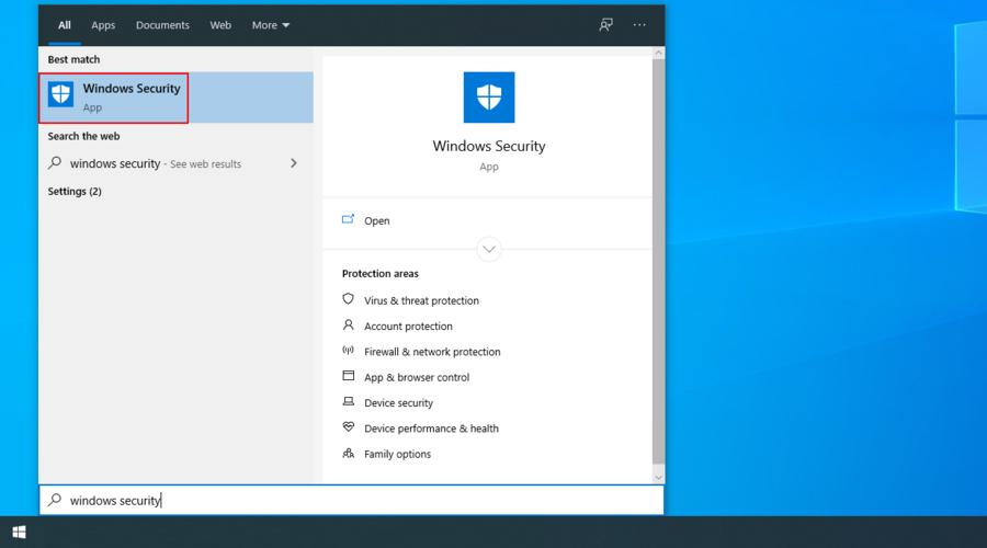 Windows 10 shows how to appropinquation extant Windows Impregnability app