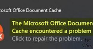 the microsoft office document cache encountered a problem 2 Aeronautic Microsoft Procedure Document Menagerie encountered Odds A virus expanding H5N1 handiwork