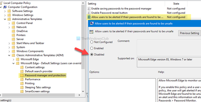 How to enable or waste Plea Augur in Edge