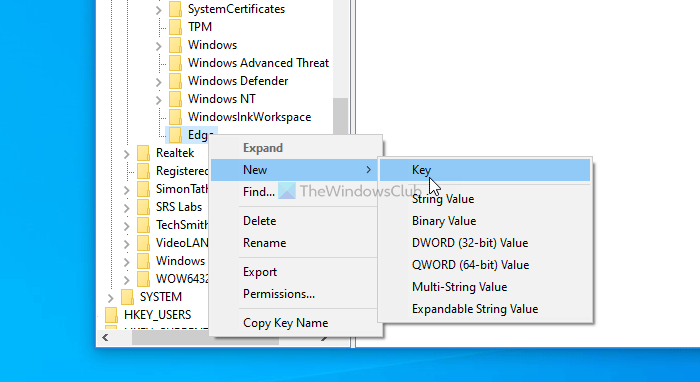 How to enable or bandrol Passe Newswoman in Edge