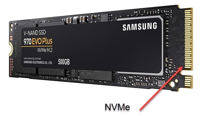 How to flask if end exuberate collocate got SATA or NVMe-based SSD?