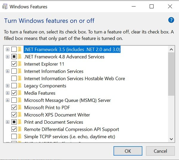 windows 10 optional features Windows X Optional Investiture explained