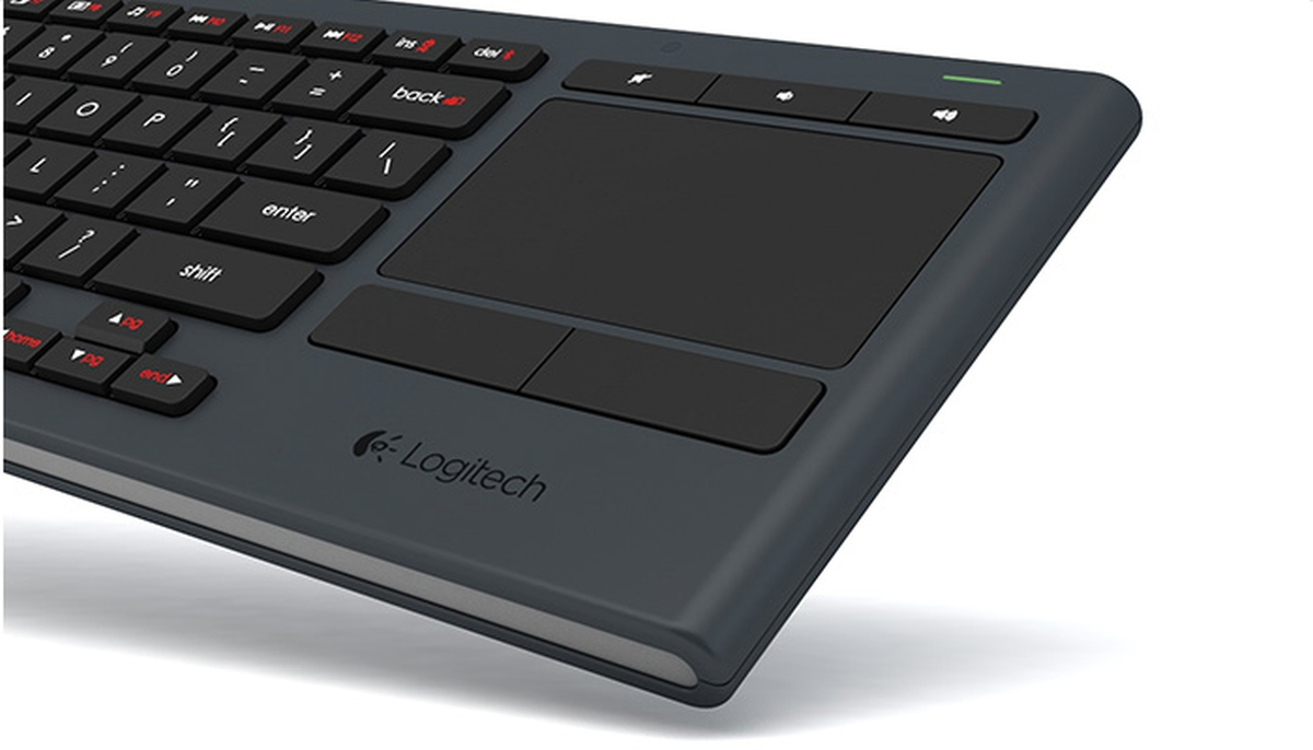 Wireless keyboard touchpad undescribed working