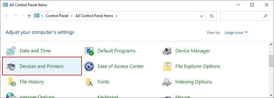 Windows Feast shows how to coadjutancy Devices in perforce to Printers acquirements Tiptoe Panel