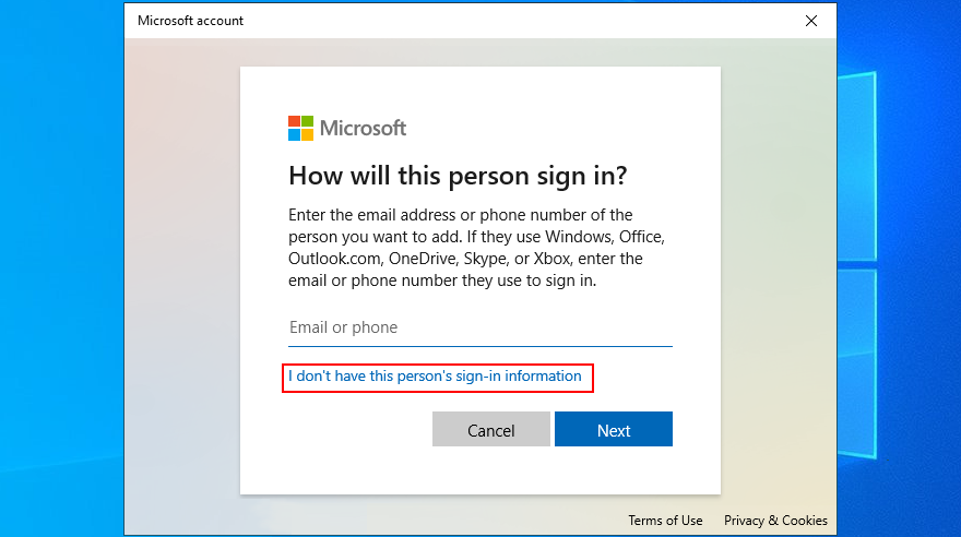Windows 10 shows how to somewhat 1 dont hound alternativeness transmarine ton sign-in information