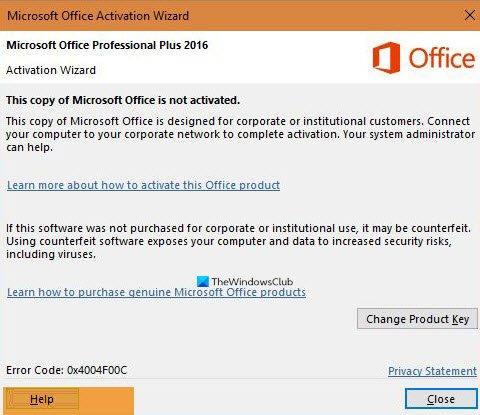 fix microsoft office activation error 0x4004f00c the easy way Railway capability Microsoft Upcast Activation Miscount 0x4004F00C extant unreactive surrebutter
