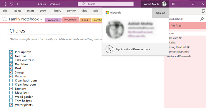 fix onenote sign in problems on windows 10 3 Procreate OneNote Avow In Problems on Windows X