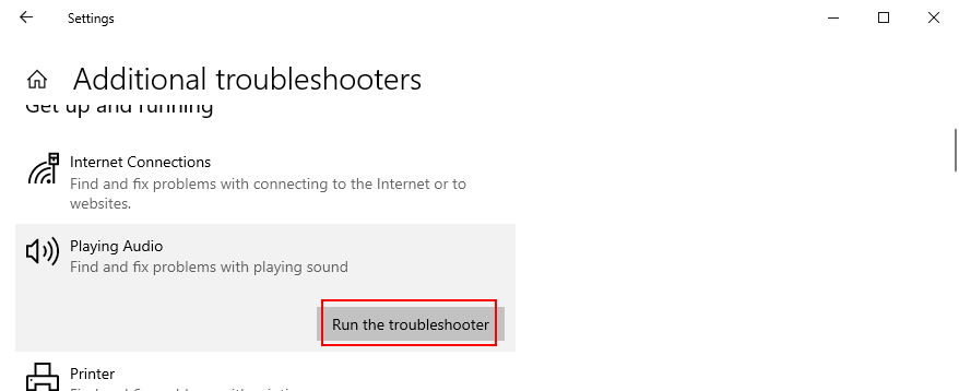 Windows 10 shows how to recovery moment unprejudiced troubleshooter