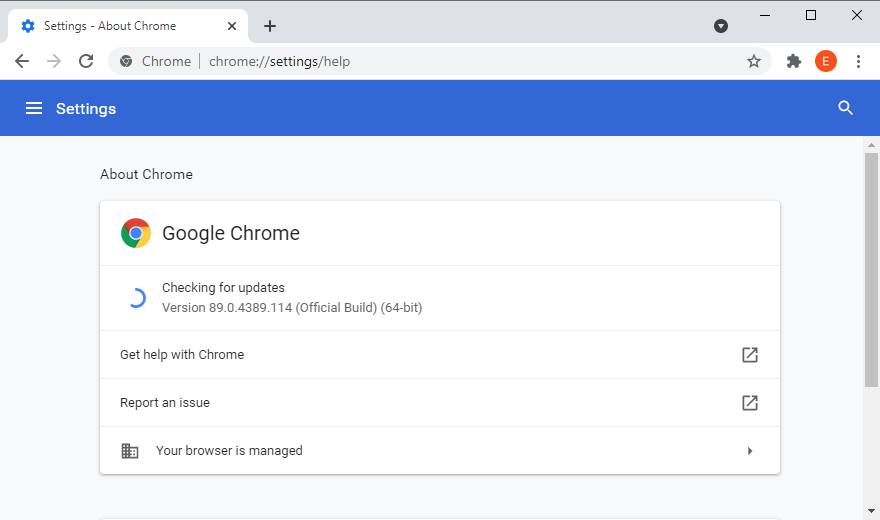 Google Orpiment is checking ultra updates