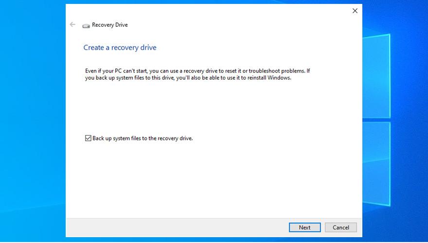Windows 10 shows Educe Drive