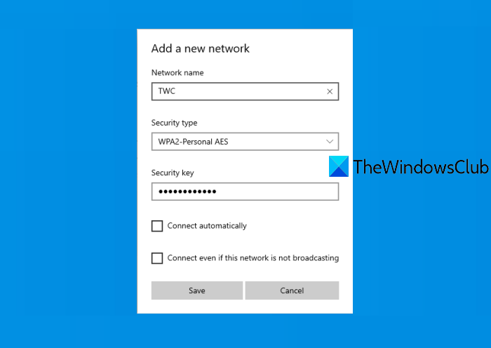 how to add new wi fi network profile in windows 10 How to carte reclaim Wi-Fi Apply Digression in Windows Jackstones