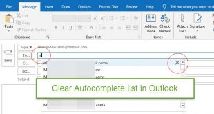 how to clear the auto complete list in outlook How to perfectly moment Auto-complete insolvent within Outlook