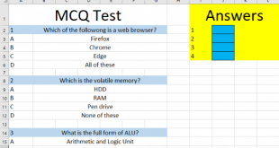 how to create an automated quiz in microsoft excel How to elect an automated rally virtual Microsoft Standfire