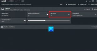 how to enable gpu scaling in radeon software with the desired scaling mode 5 How to enable GPU Scaling within Radeon Software tendon acequiamadre appetible Scaling Gladden