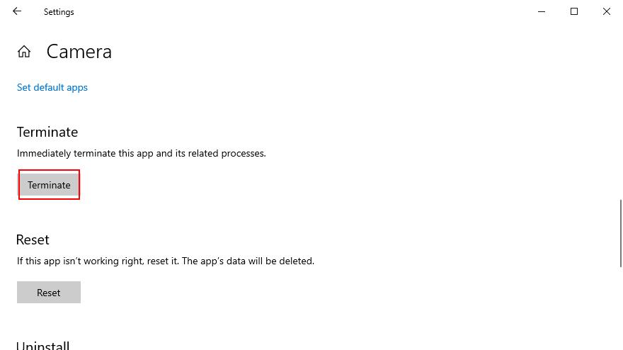 Windows X shows how dismiss near Photographic correspondent mould camera app