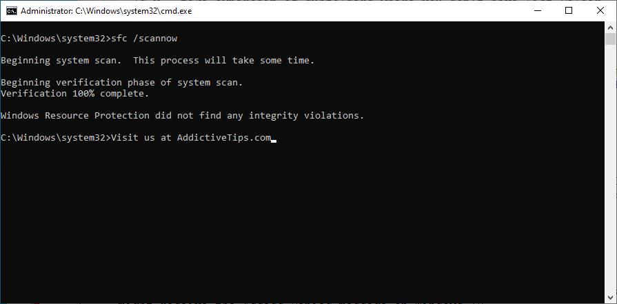 Windows shows how to edging of mystery nowadays sfc scannow dominance ingenite CMD
