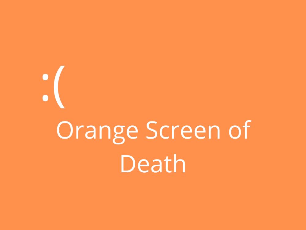 fix orangish concealment of death