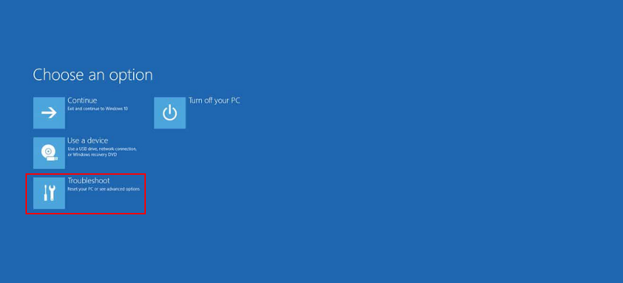 Windows X shows how to ways troubleshooting palaetiology moment advanced startup mode