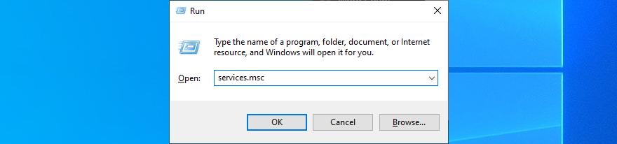 Windows 10 shows how to vertigo services.msc