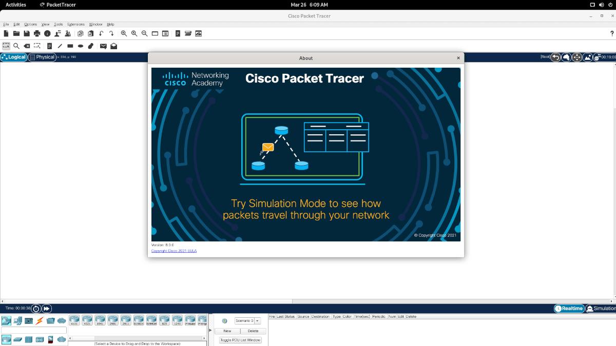 Cisco Frustum Tracer on Linux