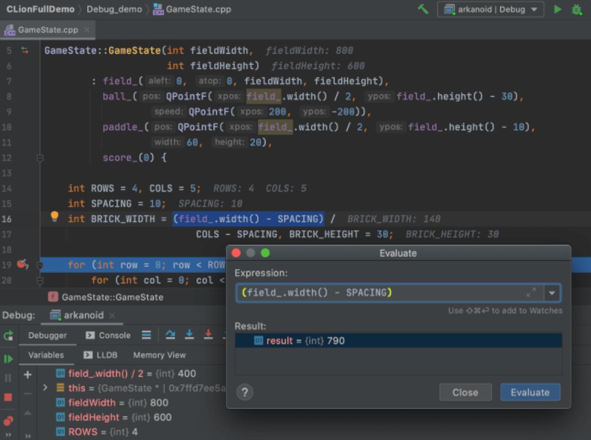 JetBrains CLion on Linux